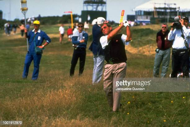 Fuzzy Zoeller in action from rough during tournament at Ailsa Course of Turnberry GC. South Ayrshire, Scotland 7/14/1994 -- 7/17/1994 CREDIT:...