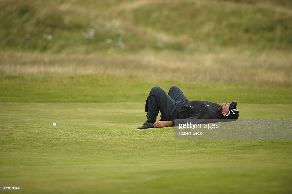 2008 British Open : News Photo