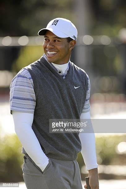 Buick Invitational Tiger Woods during Friday play at Torrey Pines GC La Jolla CA 1/25/2008 CREDIT John W McDonough