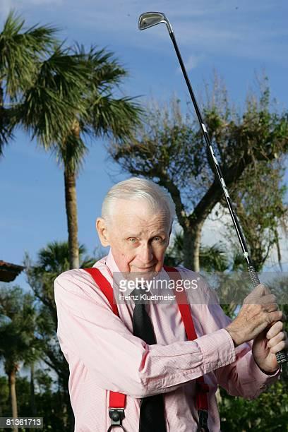 Golf Closeup portrait of Tom Hearn at Jupiter Island Club Jupiter FL