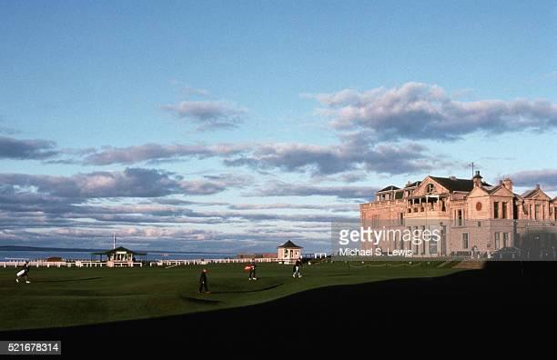 Golf Course and Palace-Like Club House