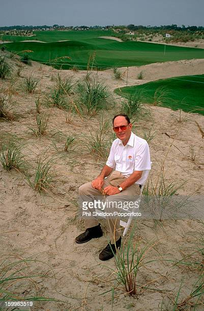 Golf course architect Pete Dye at the Kiawah Island Golf Course which he designed in South Carolina circa 1991