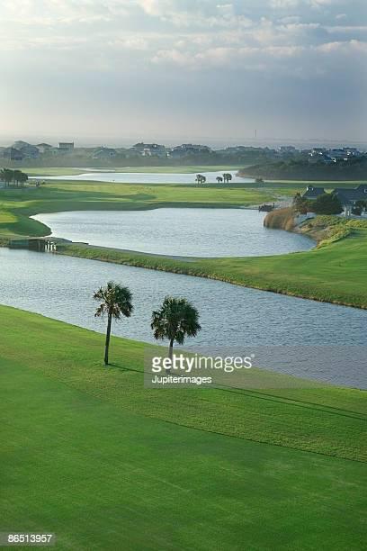 Golf course, Bald Head Island, North Carolina