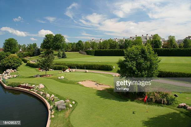 Golf Course, City Park and Community in Minneapolis Minnesota