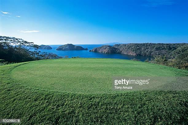 golf course on the papagayo peninsula - papagayo guanacaste fotografías e imágenes de stock