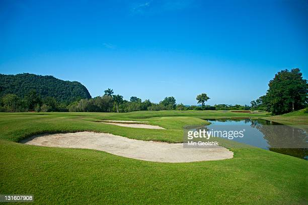 golf course - golf course stock pictures, royalty-free photos & images