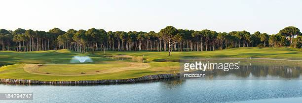 golf course - belek stock pictures, royalty-free photos & images