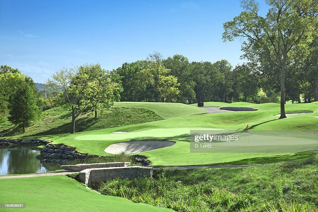 ゴルフゴルフコース : ストックフォト