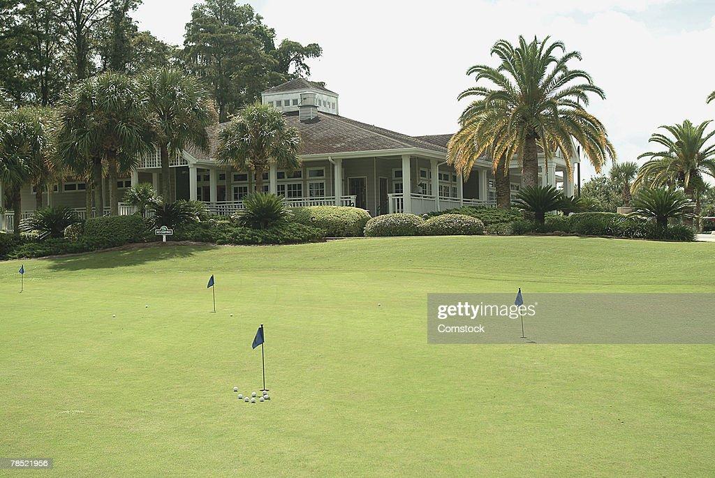 Golf course : ストックフォト