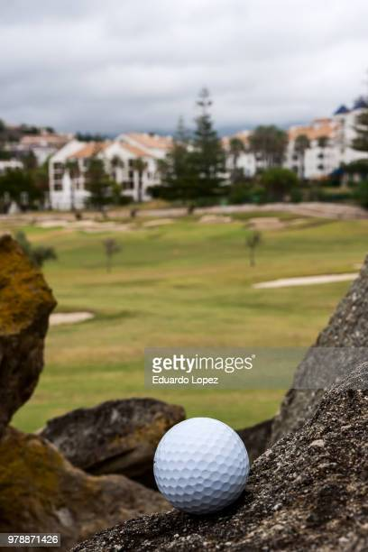 golf course - golf flag stock pictures, royalty-free photos & images