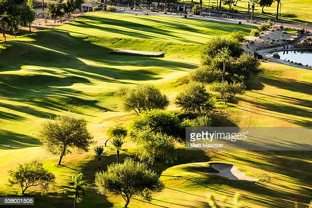 Golf Course. Scottsdale. Arizona. USA