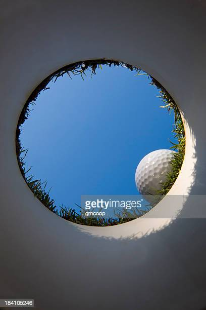Golf Cup from Underneath the Green