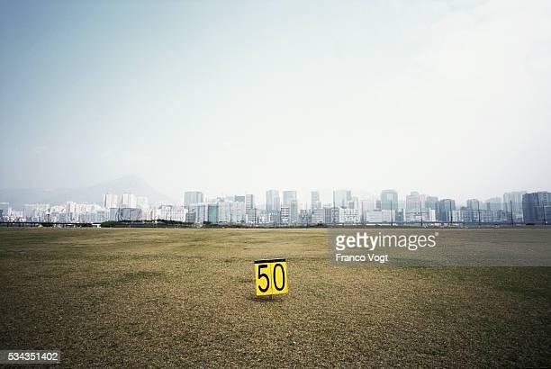 Golf Driving Range Marker