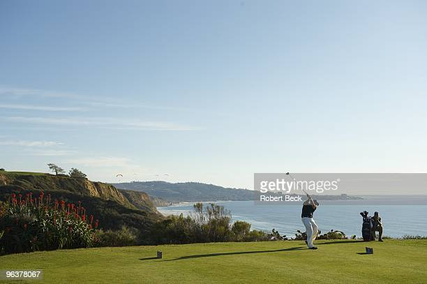 Farmers Insurance Open Phil Mickelson in action during Wednesday ProAm at Torrey Pines GC La Jolla CA 1/27/2010 CREDIT Robert Beck