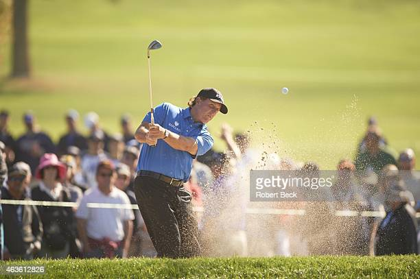 Farmers Insurance Open Phil Mickelson in action on Friday at Torrey Pines GC La Jolla CA CREDIT Robert Beck