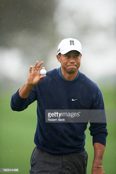 Farmers Insurance Open Tiger Woods during Friday play at Torrey Pines GC La Jolla CA CREDIT Robert Beck