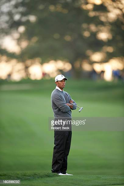 Farmers Insurance Open Tiger Woods during Sunday play at Torrey Pines GC La Jolla CA CREDIT Robert Beck