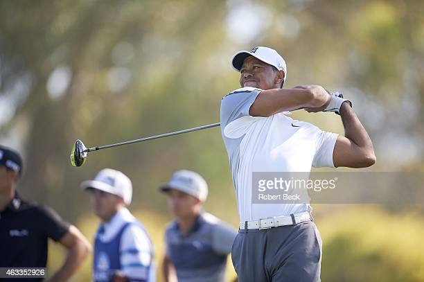 Farmers Insurance Open Tiger Woods in action on Thursday at Torrey Pines GC La Jolla CA CREDIT Robert Beck