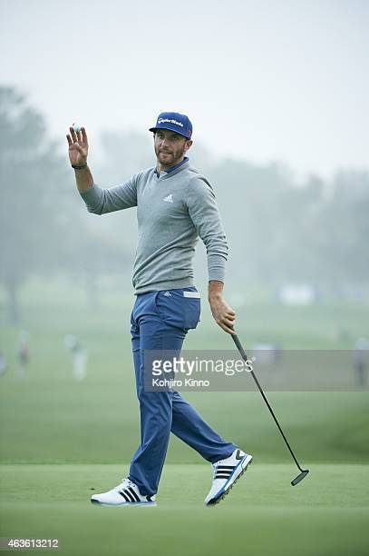 Farmers Insurance Open View of Dustin Johnson on Thursday at Torrey Pines GC La Jolla CA CREDIT Kohjiro Kinno
