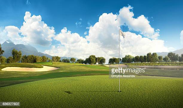 golf: golf course - golfe - fotografias e filmes do acervo