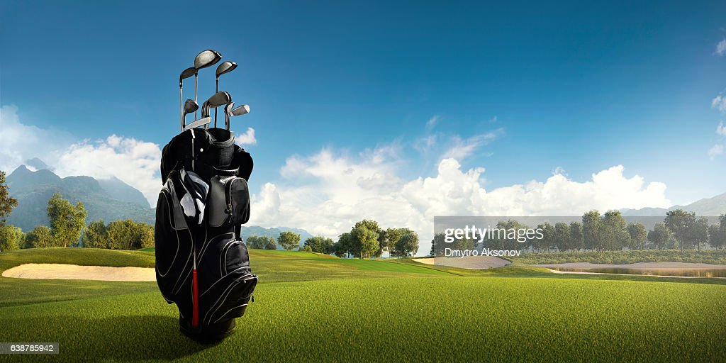 Golf: Golf course : Stock-Foto