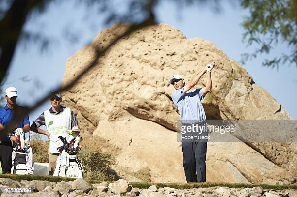 Humana Challange: George McNeill in action, drive from No 3 tee of Nicklaus course on Friday at La Quinta CC. La Quinta, CA 1/23/2015 CREDIT: Robert...
