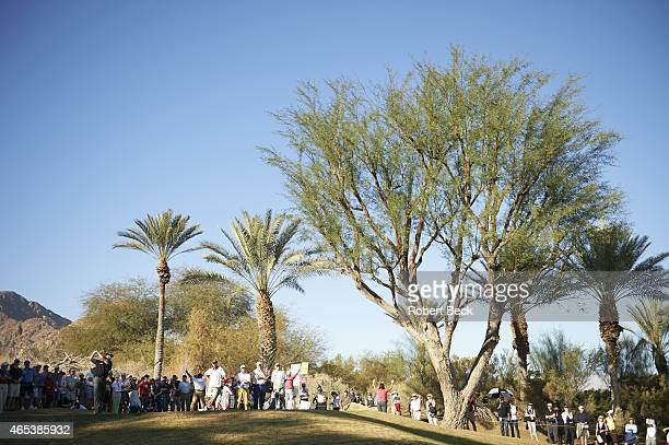 Humana Challange: Overall view of Phil Mickelson in action, drive on Friday at La Quinta CC. La Quinta, CA 1/23/2015 CREDIT: Robert Beck