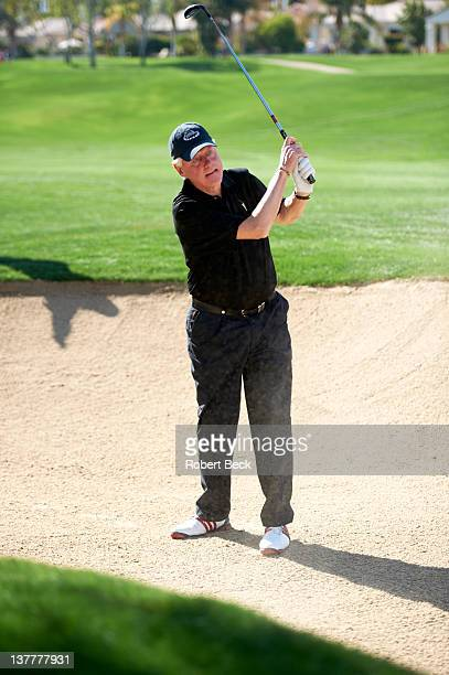 Humana Challenge: Former United States President Bill Clinton in action on Saturday during Round 3 at La Quinta CC. La Quinta, CA 1/21/2012 CREDIT:...