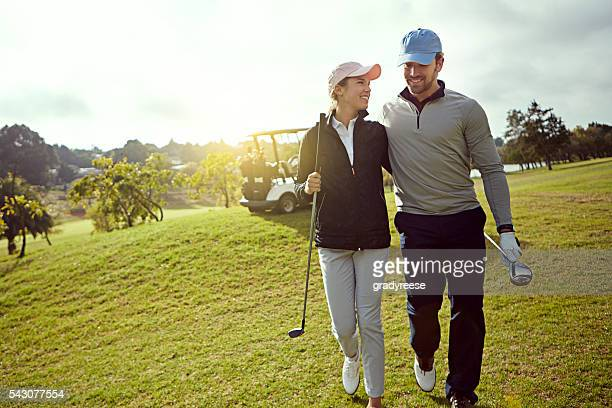 Golf ist ein großartiger Urlaub