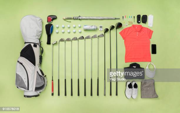 Golf item  knolling style