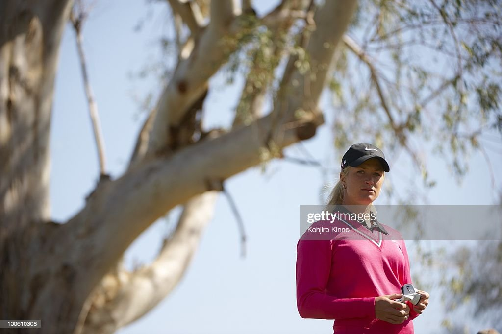Suzann Pettersen during Sunday play at Papago GC. Phoenix, AZ 3/29/2009