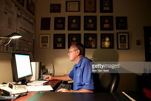 Jobs and Salary Issue Portrait of Turnberry Isle director of golf Bob Coman at Fairmont Turnberry Isle Resort Club Aventura FL CREDIT Ben Van Hook