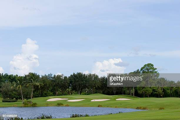 golf landscaping - florida landscaping stock pictures, royalty-free photos & images