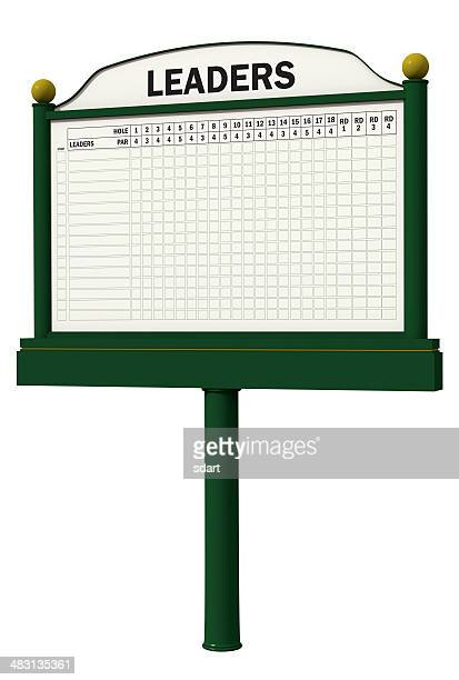 golf leader board - scoreboard stock pictures, royalty-free photos & images
