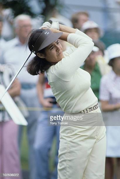 LPGA Championship Nancy Lopez during tournament at Jack Nicklaus Golf Center Kings Island OH 6/7/19786/18/1978 CREDIT Tony Tomsic 079005345