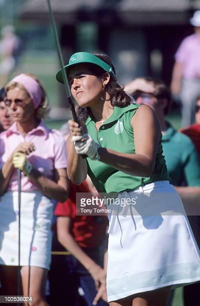LPGA Championship Nancy Lopez during tournament at Jack Nicklaus Golf Center Kings Island OH 6/7/19786/18/1978 CREDIT Tony Tomsic 079005343