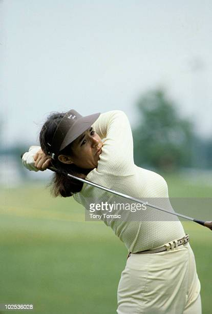 LPGA Championship Nancy Lopez during tournament at Jack Nicklaus Golf Center Kings Island OH 6/7/19786/18/1978 CREDIT Tony Tomsic 079005344