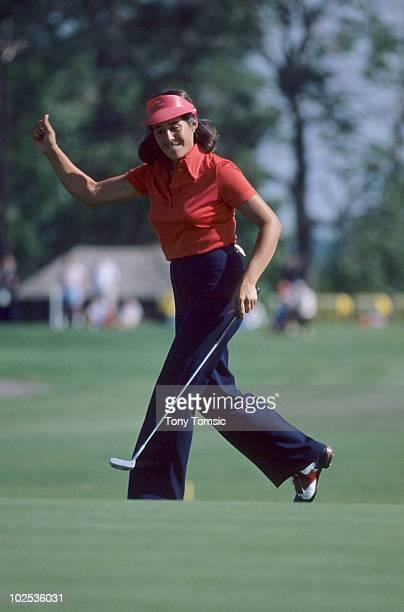 LPGA Championship Nancy Lopez during tournament at Jack Nicklaus Golf Center Kings Island OH 6/7/19786/18/1978 CREDIT Tony Tomsic 079005346