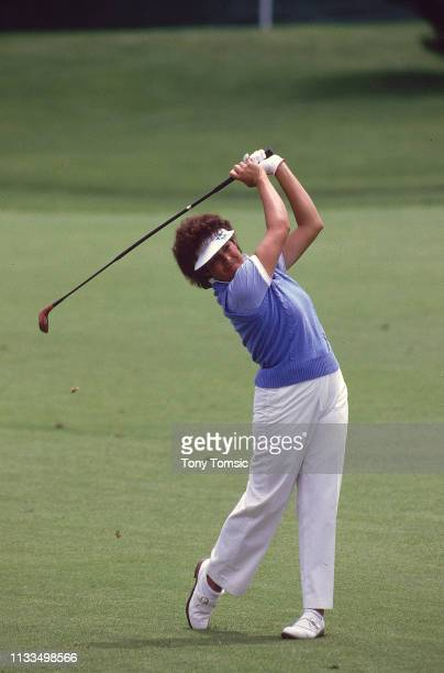 LPGA Championship Nancy Lopez in action drive during Sunday play on the Grizzly Course at Jack Nicklaus Golf Center at Kings Island Mason OH CREDIT...
