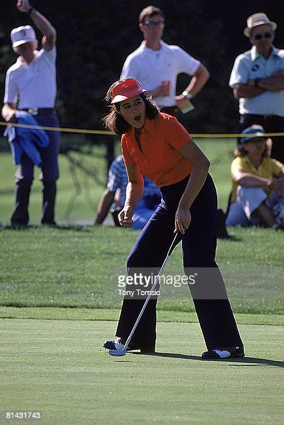 Golf LPGA Championship Nancy Lopez in action on Friday at Jack Nicklaus GC Kings Island OH 6/9/1978