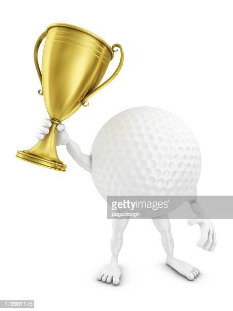 golf man winning