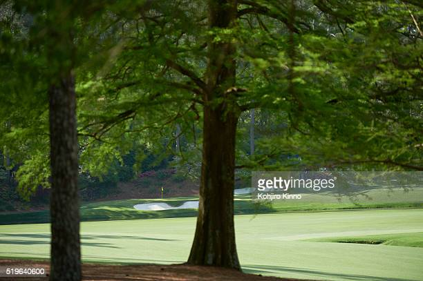Masters Preview Scenic view of No 12 hole before Par 3 tournament on Wednesday at Augusta National Augusta GA CREDIT Kohjiro Kinno