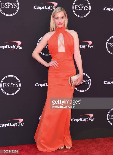 Golf media personality Paige Spiranac attends The 2018 ESPYS at Microsoft Theater on July 18 2018 in Los Angeles California