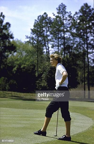Golf Mickey Wright at Augusta National Augusta GA 3/26/1956