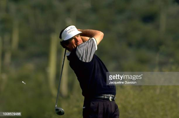 Northern Telecom Open Bruce Lietzke in action during Thursday play at the Omni Tuscon National Golf Resort Tuscon Arizona 1/19/1995 CREDIT Jacqueline...