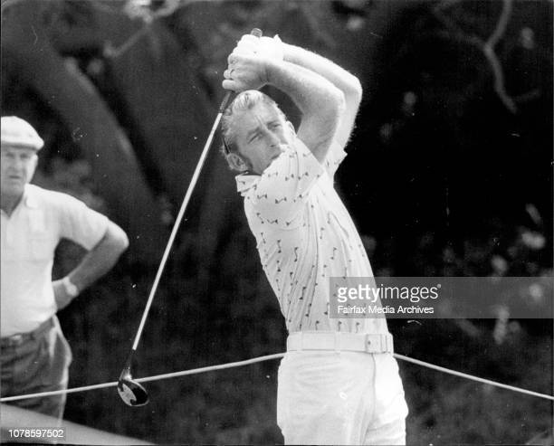 Golf NSW OpenTed Ball at 2nd October 14 1976