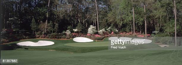 Golf Panoramic and scenic view of No Amen Corner at Augusta National Augusta GA 1/1/1995