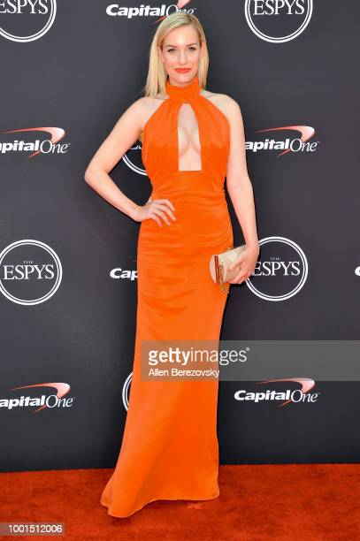 Golf personality Paige Spiranac attends The 2018 ESPYS at Microsoft Theater on July 18 2018 in Los Angeles California