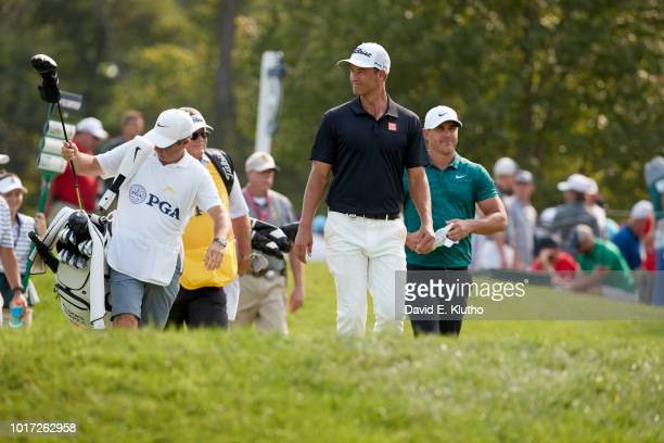 PGA Championship Adam Scott walks the course during Sunday play at Bellerive CC St Louis MO CREDIT David E Klutho