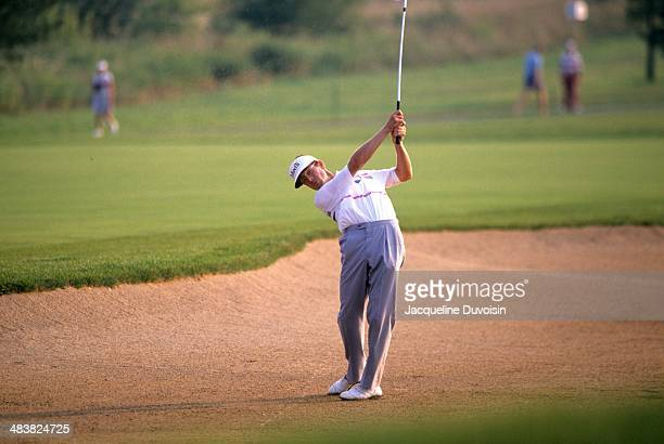 PGA Championship Mike Reid in action during Saturday play at Kemper Lakes GC Hawthorn Woods IL CREDIT Jacqueline Duvoisin